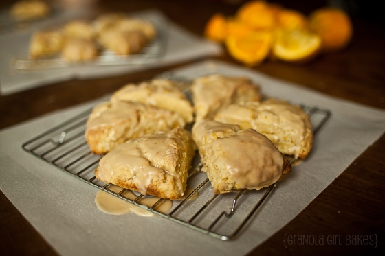 Orange Scones ::Granola Girl Bakes 8