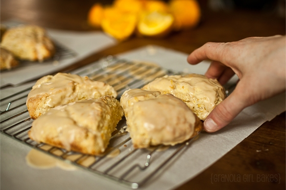 Orange Scones ::Granola Girl Bakes 9