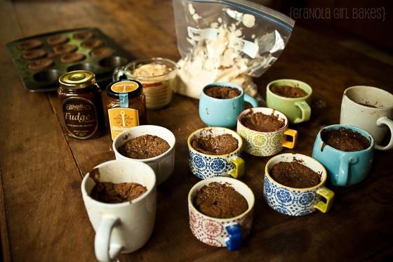 Salted Caramel Mocha Cupcakes :: Granola Girl Bakes 3