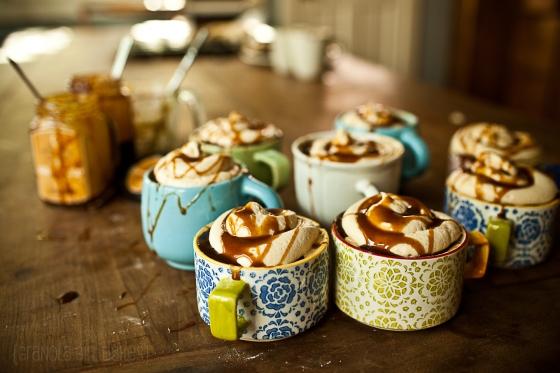 Salted Caramel Mocha Cupcakes :: Granola Girl Bakes 7