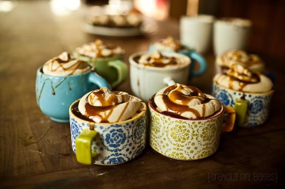 Salted Caramel Mocha Cupcakes :: Granola Girl Bakes 9