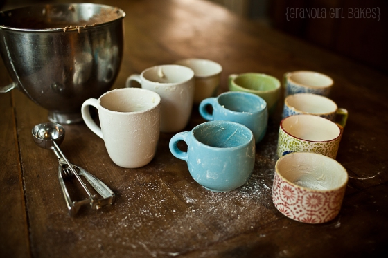 Salted Caramel Mocha Cupcakes :: Granola Girl Bakes