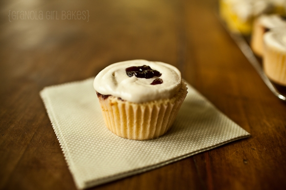Raspberry Swirl cupcakes 8