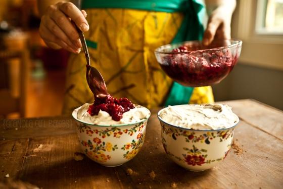 Raspberry Trifles {Granola Girl Bakes} 11