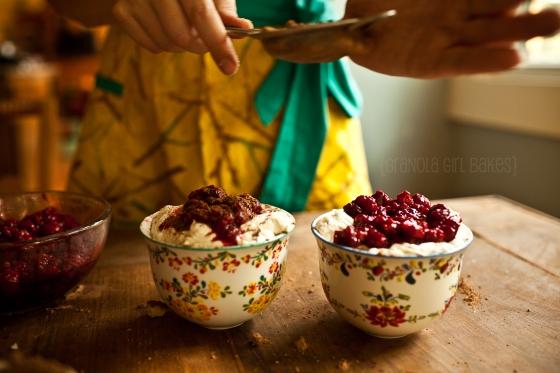Raspberry Trifles {Granola Girl Bakes} 12