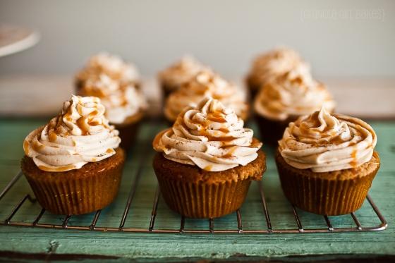 Spiced Eggnog Cupcakes ::GranolaGirlBakes 6