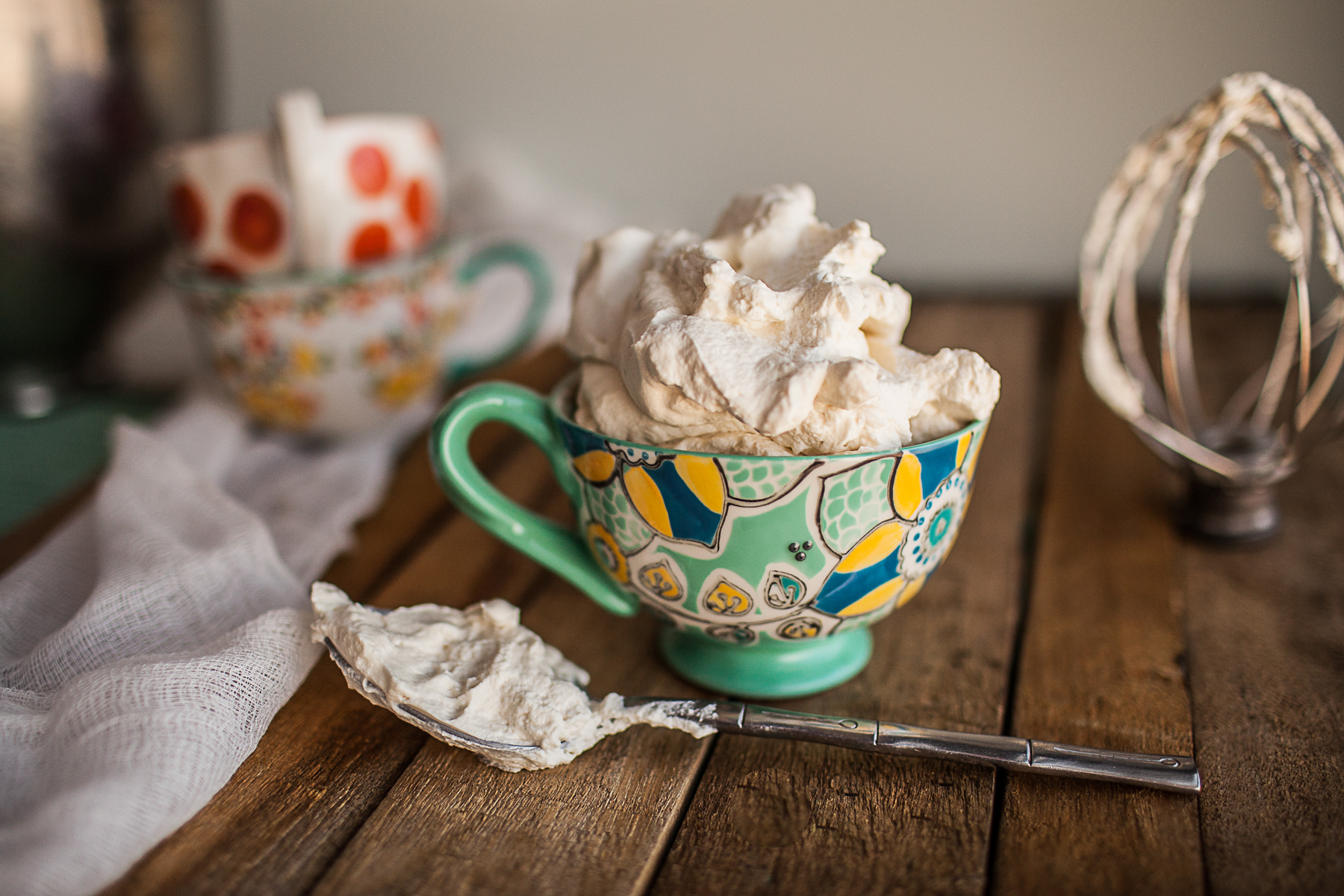 Whipped Cream Sweetened With Maple  Granolagirlbakes-2761