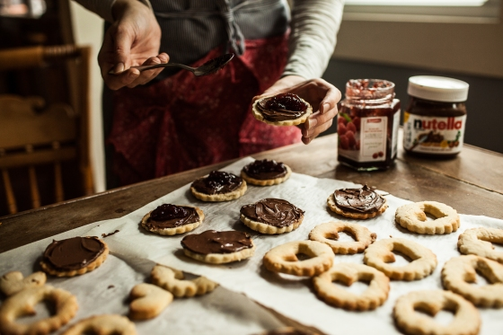 Raspberry Nutella Cookies Granola Girl bakes 13