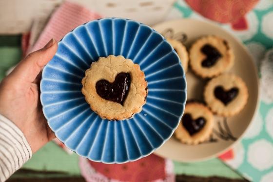 Raspberry Nutella Cookies Granola Girl bakes 23