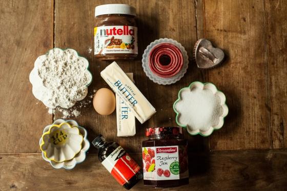 Raspberry Nutella Cookies Granola Girl Bakes